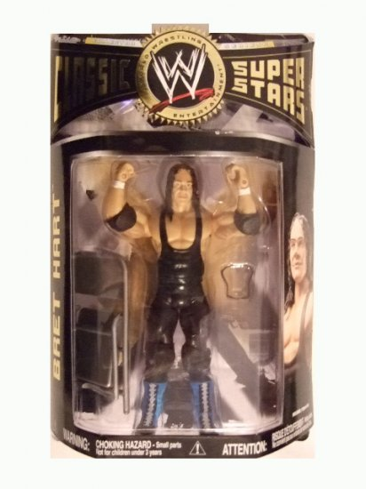 WWE Classic Superstars Series 13 - Bret Hart Action Figure