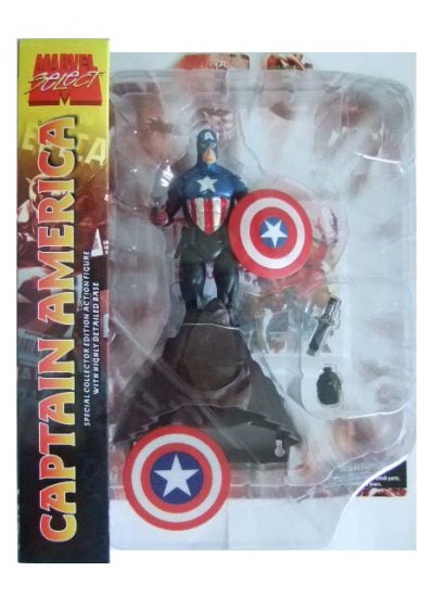 Marvel Select - Captain America Action Figure