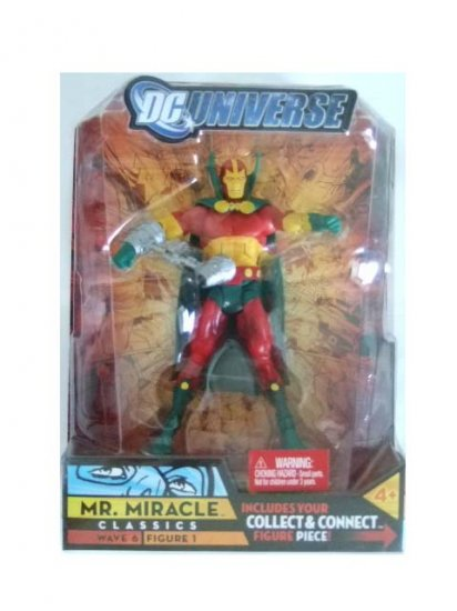DC Universe Series 6 - Mr. Miracle Action Figure
