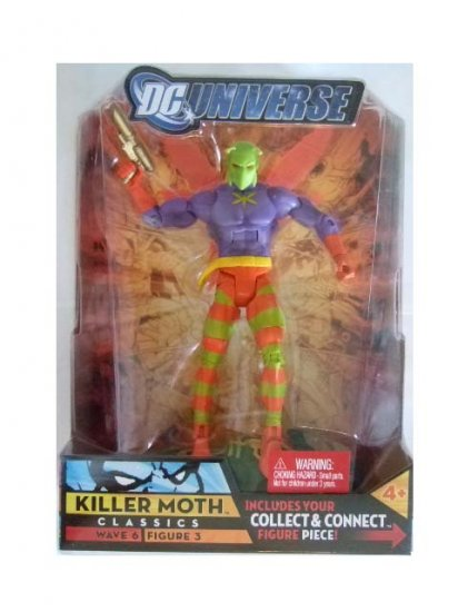 DC Universe Series 6 - Killer Moth Action Figure