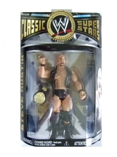 WWE Classic Superstars Series 22 - Stone Cold Steve Austin Action Figure