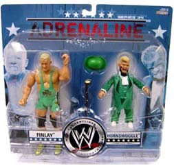 WWE Adrenaline 34 - Finlay & Hornswoggle Action Figure 2-Pack