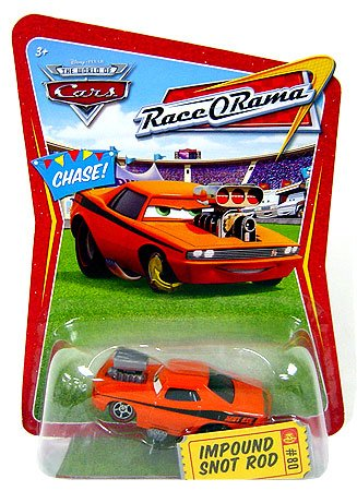World of Cars Race O Rama - Impound Snot Rod Vehicle
