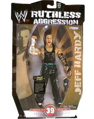 WWE Ruthless Aggression Series 39 - Jeff Hardy Action Figure