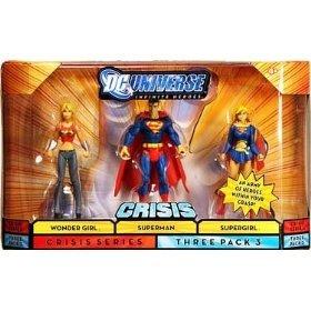 DC Universe Infinite Heroes - Wonder Girl, Superman and Supergirl Action Figure 3-Pack