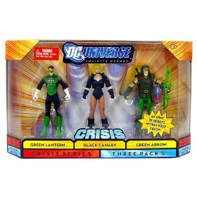 DC Universe Infinite Heroes - Green Lantern, Black Canary and Green Arrow Action Figure 3-Pack