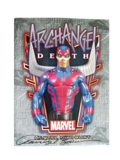 WWLA 2007 Exclusive Signed Archangel Death Bust