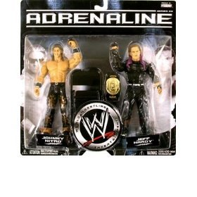 WWE Adrenaline 23 - Johnny Nitro & Jeff Hardy Action Figure 2-Pack