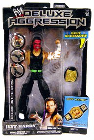 WWE Deluxe Aggression Series 21 - Jeff Hardy Action Figure