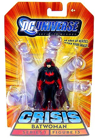 DC Universe Inifinite Heroes Series 1 - Batwoman Action Figure