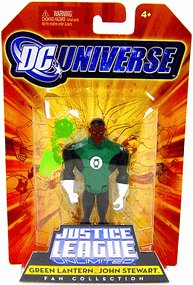 DC Universe Justice League Unlimited - Green Lantern (John Stewart) Action Figure