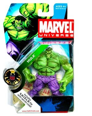 Marvel Universe Series 2 - Hulk (Green) Action Figure