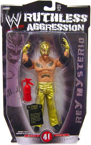 WWE Ruthless Aggression Series 41 - Rey Mysterio Action Figure