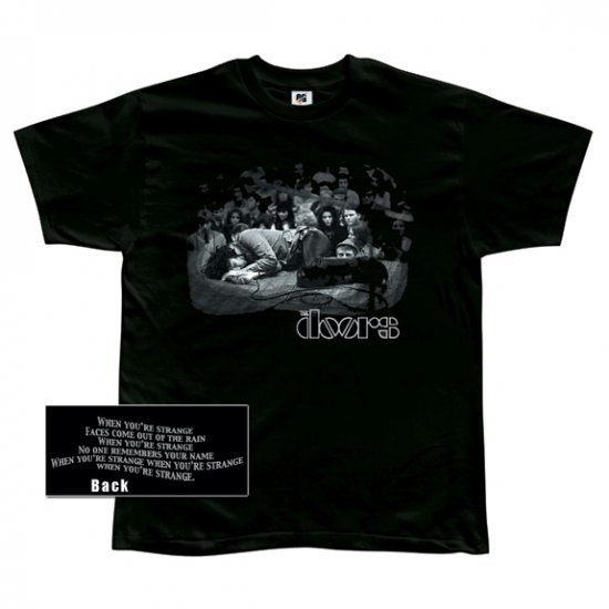The Doors Jim Morrison Exhausted Small T-Shirt