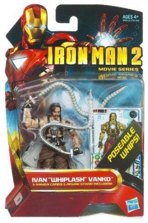 Iron Man 2 Movie Series - Ivan Whiplash Vanko Action Figure