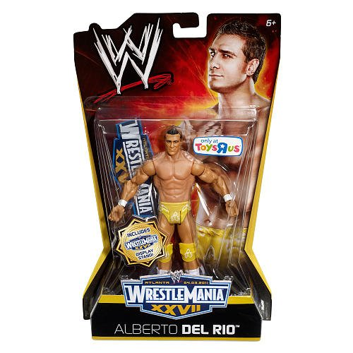 WWE Mattel Wrestlemania XXVII - Alberto Del Rio Action Figure