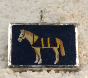 Kentucky Thoroughbred Horse Derby Pendant