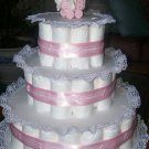 Baby Feet 3 Tier Diaper cake