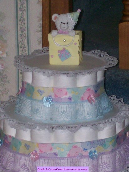 BABY Bears 3 Tier Diaper cake