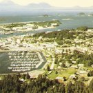 Aerial View Sheldon Jackson College~Sitka Alaska~Chrome