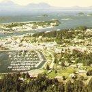 Aerial View Sheldon Jackson College~Sitka Alaska~Chrome