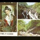 BETWS-Y-COED~Swallow Falls~Miner's Bridge~Nat'l Costume
