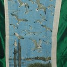 Linen Tea Towel Sailboat