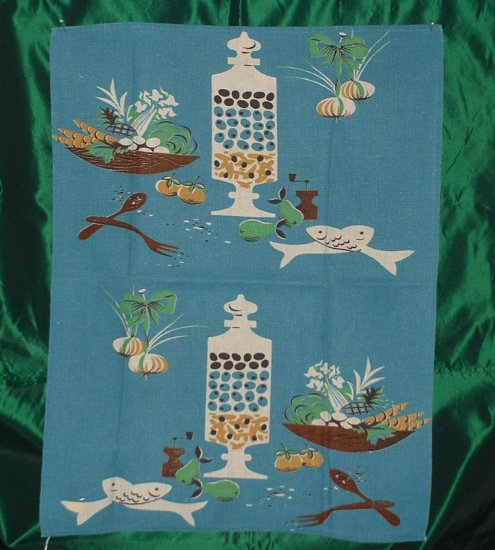 Pair of Linen,Rayon,Cotton Tea Towels