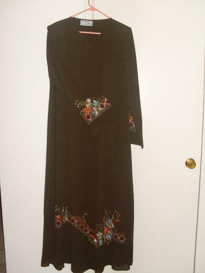 Al Karam Abaya - Floral Abaya