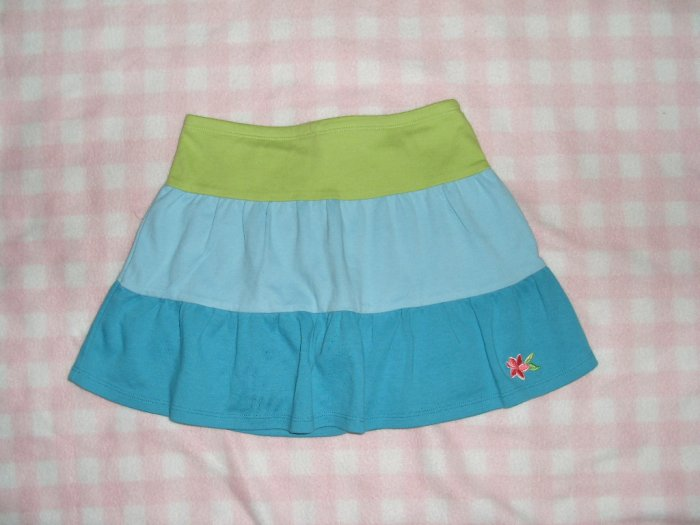Gymboree kid girls skort skirt size 6