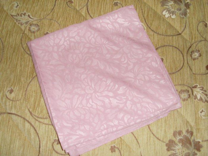 Pink Damask hijab scarf