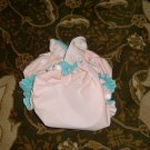 AIO OS All In One One Size cloth diaper peach