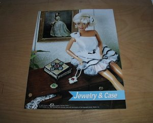 FASHION DOLL JEWELRY & CASE PLASTIC CANVAS PATTERN