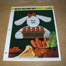 HOME DECOR - Bunny Welcome Sign Plastic Canvas Pattern