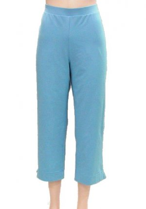 Weekenders NEW Aqua #200 Capri Yoga Pants M