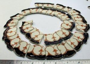 Broken China Mosaic  Tiles