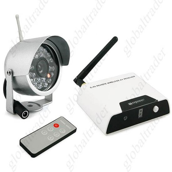 Wireless Waterproof Night Vision IR Security Camera FREE SHIPPING