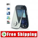 Dual SIM TV QWERTY Mobile Cell Phone Touchscreen WIFI FREE Shipping