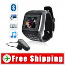 1.3inch 2GB Touch Screen Mobile  Watch Phone Keypad Camera