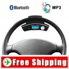 Car Steering Wheel Bluetooth Adapter - Wireless Earpiece FREE Shipping