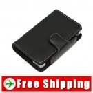 New Soft Black leather Case for Nintendo NDSL DS Lite FREE Shipping