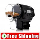 Automatic Fish Feeder with LCD Display - Anti-Jam Design FREE Shipping