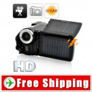 720P HD Solar Camcorder with Dual Charging Panels FREE Shipping