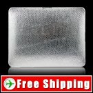 New Snake Pattern Hard Case For Apple iPad Silver FREE Shipping