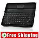 Black Aluminum Case Holder with Bluetooth Keyboard for iPad