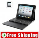 New Leather Case for iPad 2 - Removable Bluetooth Keyboard