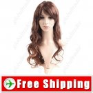 Sweet Doll Styling Synthetic Hair Long Curl Wig Hairpiece