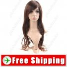Vibrant Stylish Synthetic Hair Long Perm Curl Wig Hairpiece