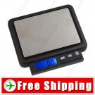 2000g x 0.1g LED Digital Pocket Weighing Balance Scale Box