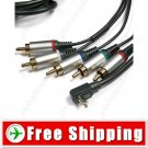 HD Component AV Audio Video Cable for PSP 2000 3000 Slim Lite Series